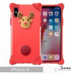 iPhone X 泡泡保護套 - 麋鹿