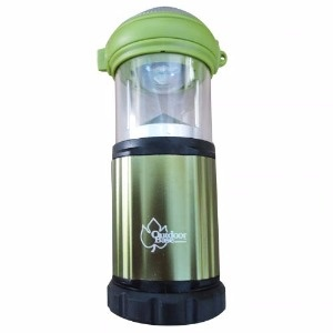 【Outdoorbase】3W LED 露營兩用可調式營燈。可當手電筒