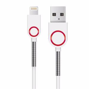 【Homtime】蘋果 MFI認證 Lightning 傳輸充電線-白