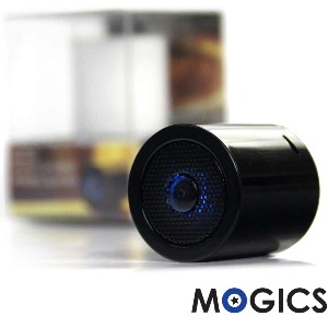 【MOGICS】MS1高音質防水藍牙喇叭(酷炫黑)