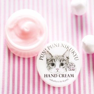 【Felissimo貓部】貓肉球香味護手霜-粉色